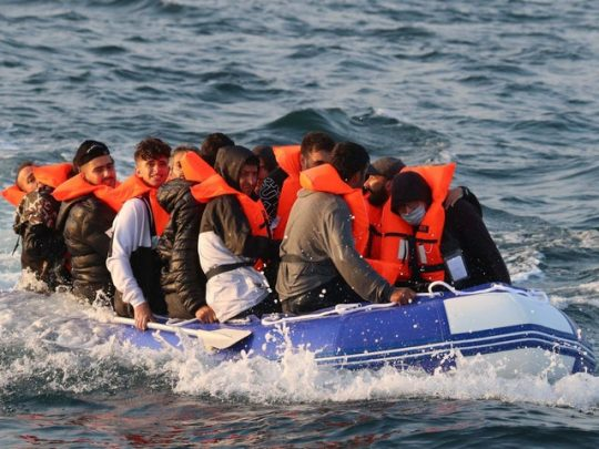 migrants channel crossings