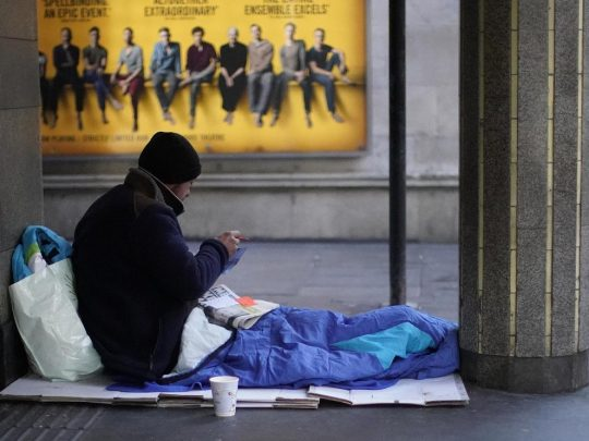 rough sleeper migrants