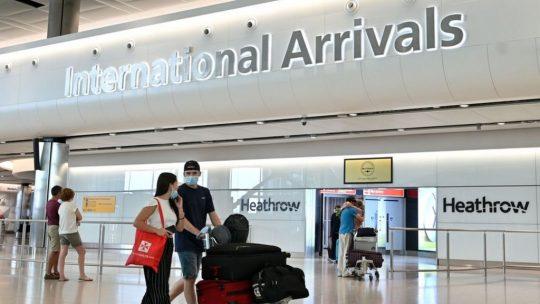 uk international arrivals